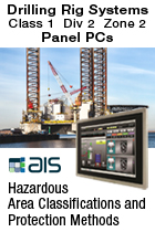 Drilling Rig Systems Class 1 Div 2 ATEX Zone 2 Hazardous Area Panel PC