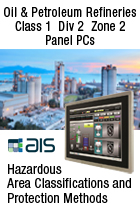 Oil Refineries Class 1 Div 2 ATEX Zone 2 Hazardous Area Panel PC