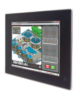 IP66 Stainless Touch Panel PCs with Intel® N455 1.66 GHz