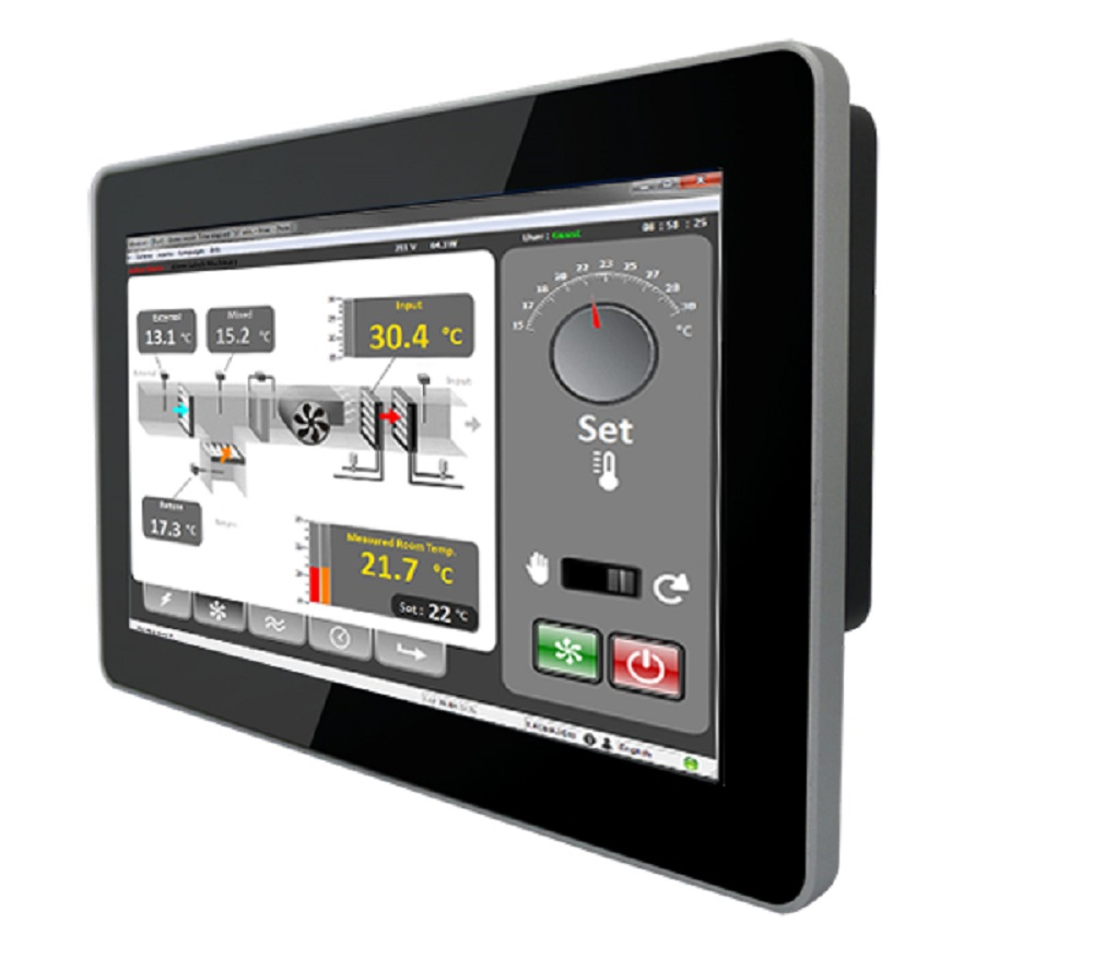 Low cost multi touch screen operator interface computers ais - Internet multi server control panel ...