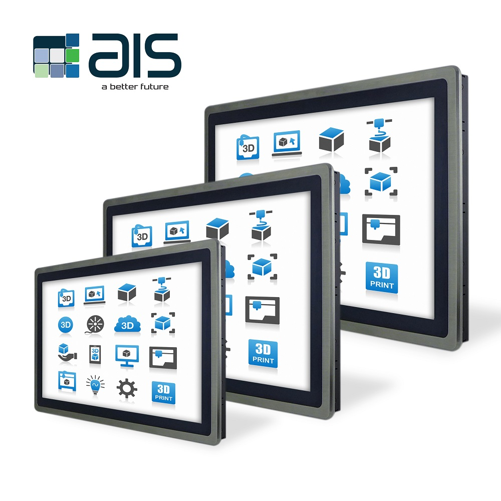 64-Bit Based Industrial Panel PCs and Operator Interfaces