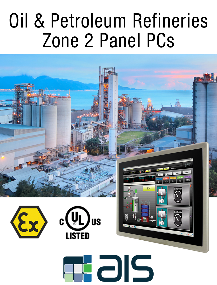 Petroleum Oil Refinery Plant Hazardous Area Operator Control And Monitoring Systems
