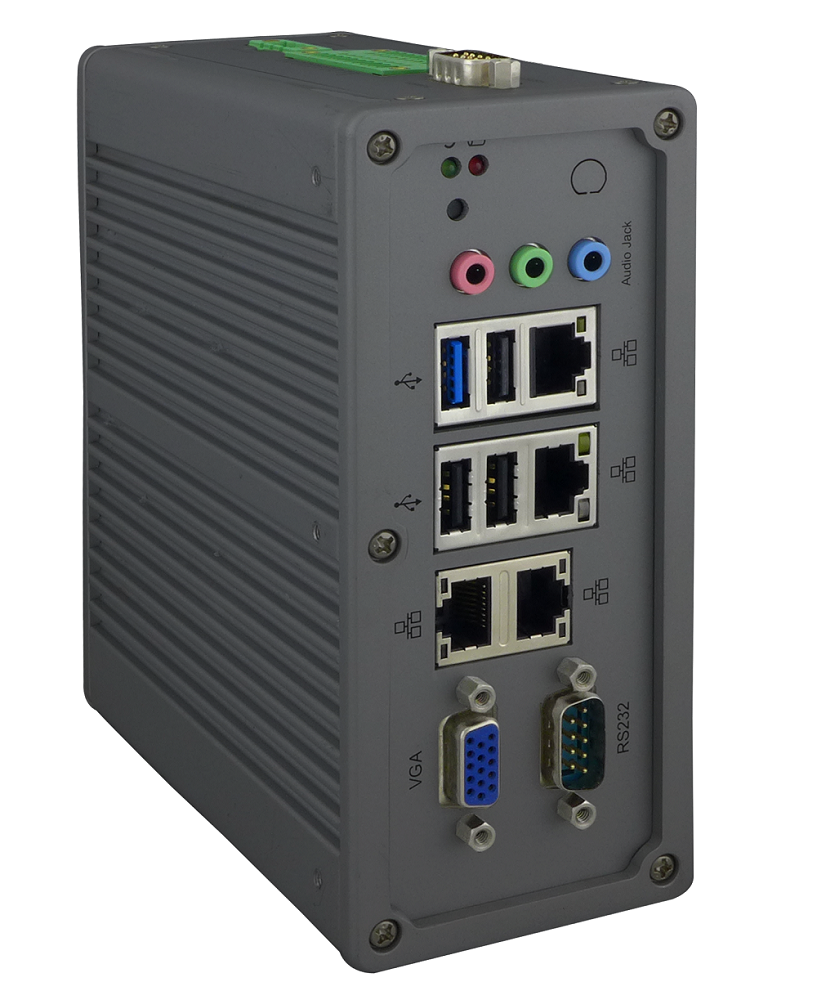 Din Rail Industrial PC (IPC) and Embedded Automation Computer