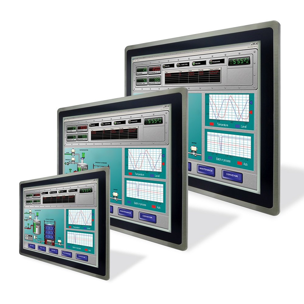 HMI Operator Interface Panel with Intel® Atom™ Processor Bay Trail and Windows Embedded 8
