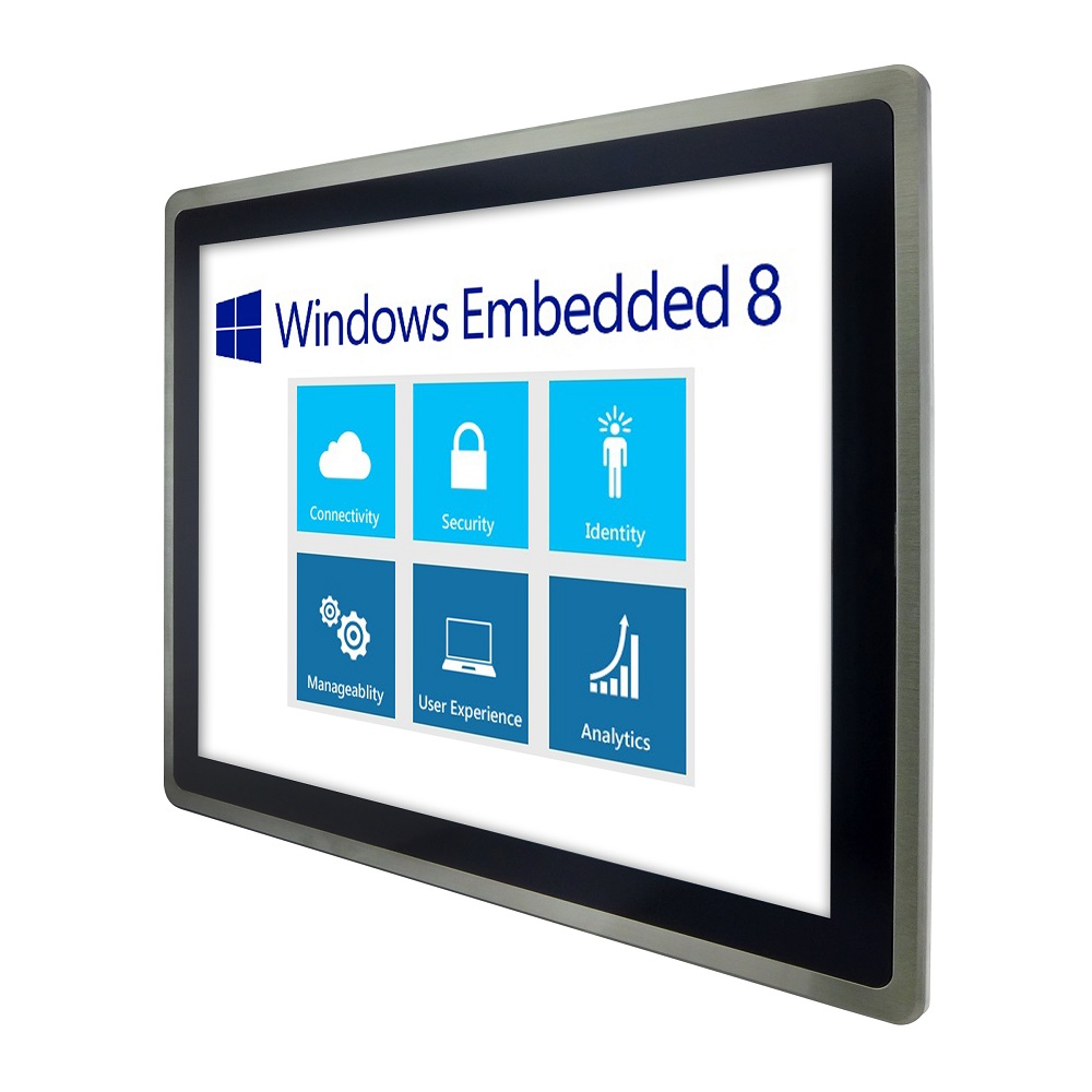 HMI Panel PC powered by Windows Embedded 8.1 with and intelligent HMI systems for industrial automation, pharmaceutical, chemical and utility systems