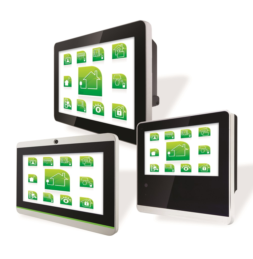 Smart HMI Panel PCs, Smart Home, Smart Building Automation, Smart Energy Management