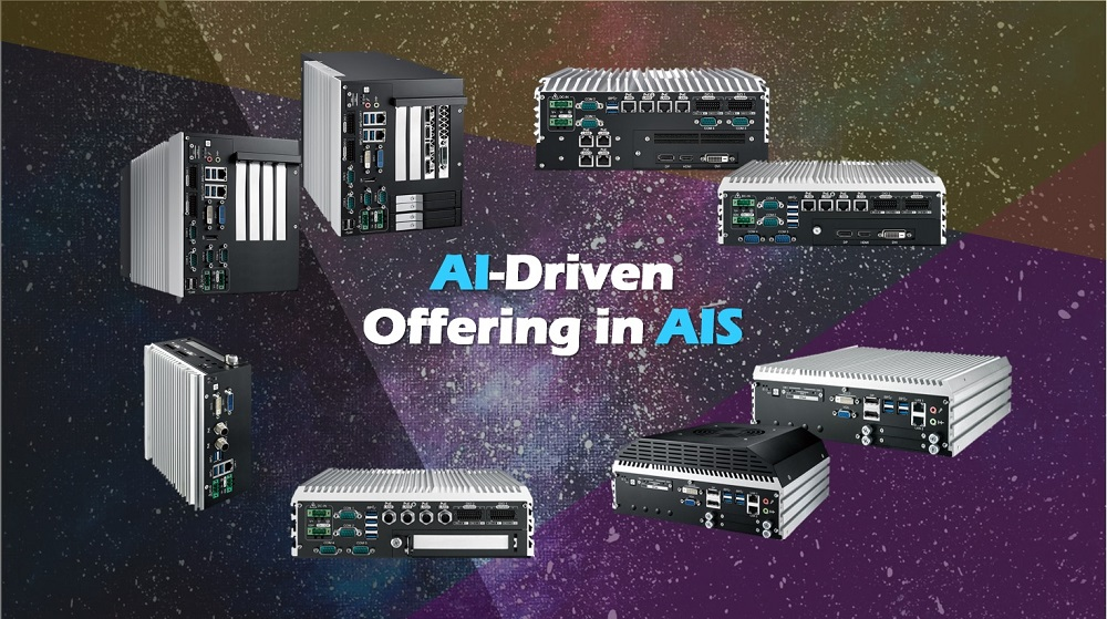 AIS Industrial AI-enabled and GPU-powered Embedded Computers
