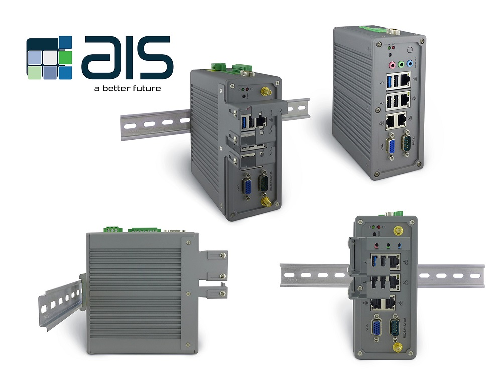 Industrial DIN Rail Mounted PC