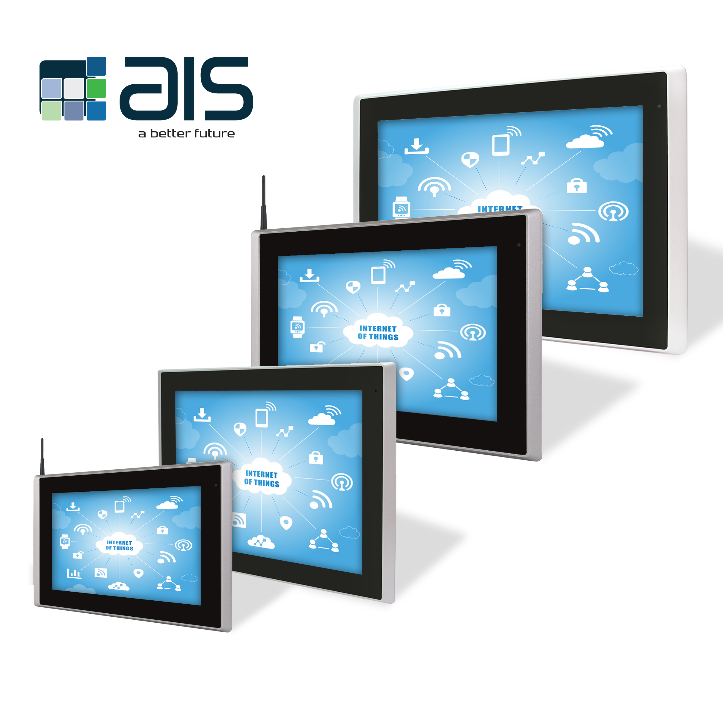 Industrial IoT HMIs and Panel PCs with CE and FCC Certification