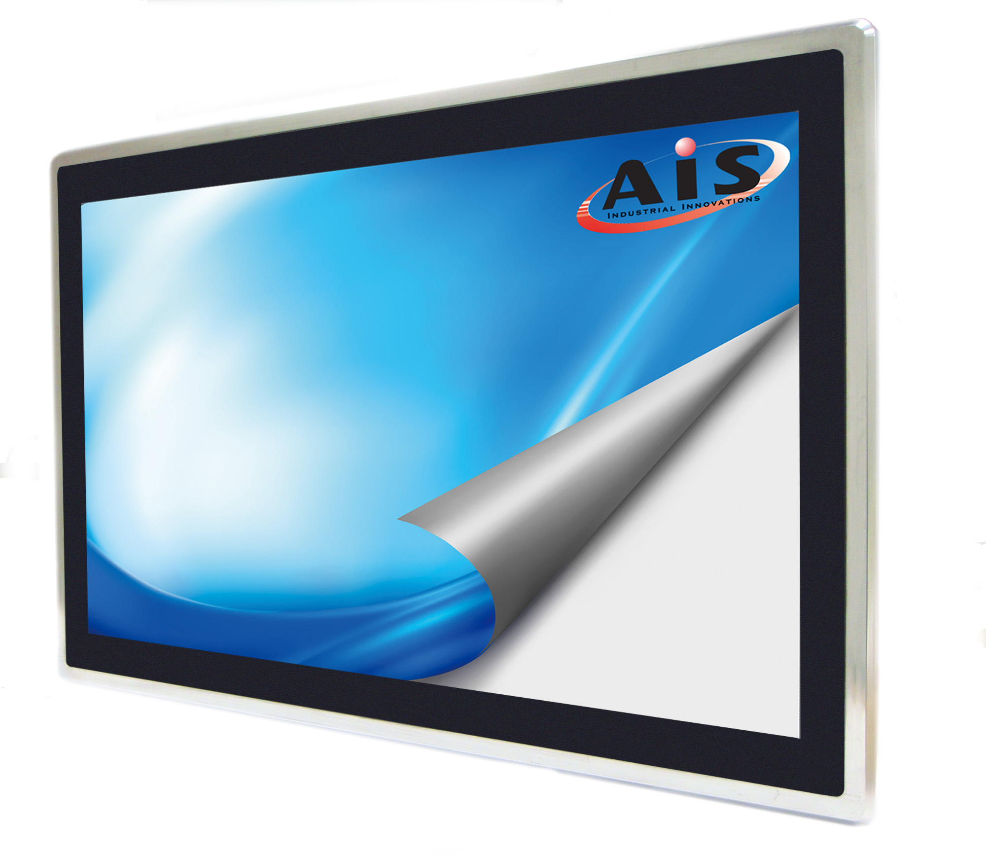 Commercial touch screen monitor