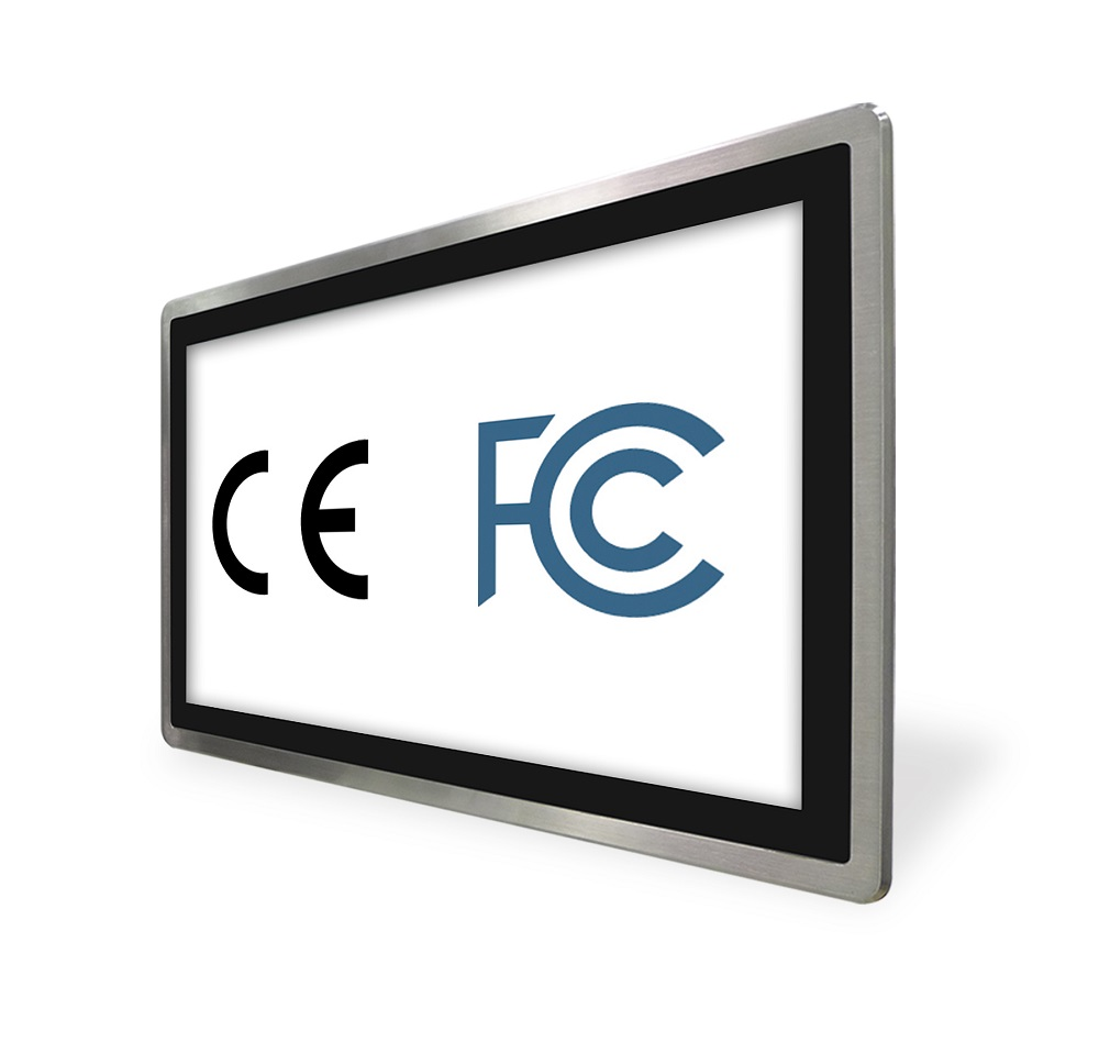 Industrial Panel PC, FCC and CE Certifications