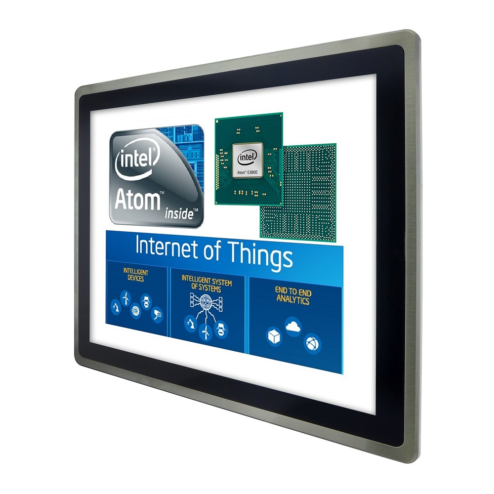 Industrial Panel PC and HMI equipped with Intel® Atom™ Bay Trail processor delivers substantial performance, I/O, and power efficiency improvements for PC-based automation and Internet of Things (IoT)