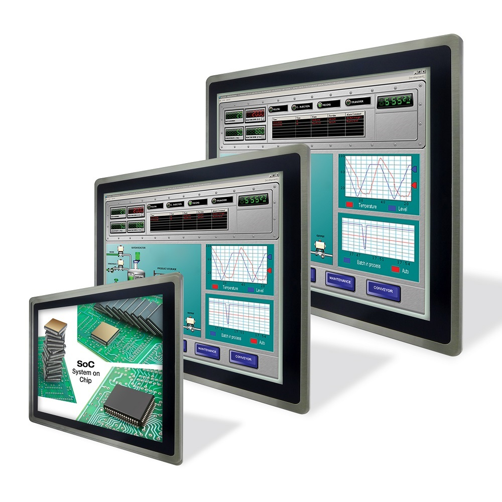 Intel® Atom™ Touch Panel PCs, Human Machine Interface HMI, Operator Interface Panels