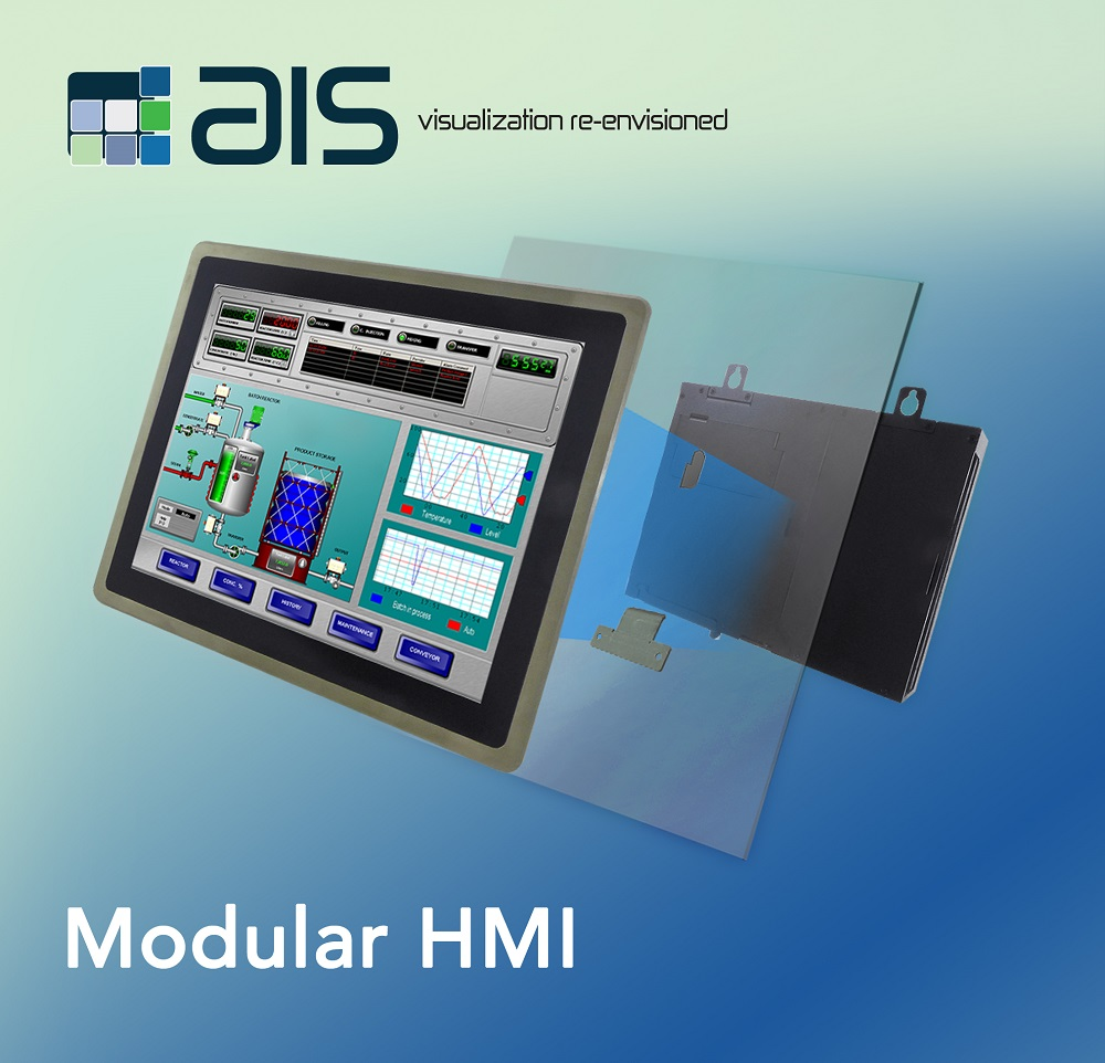 Modular Industrial Panel PC and HMI Embedded Computer