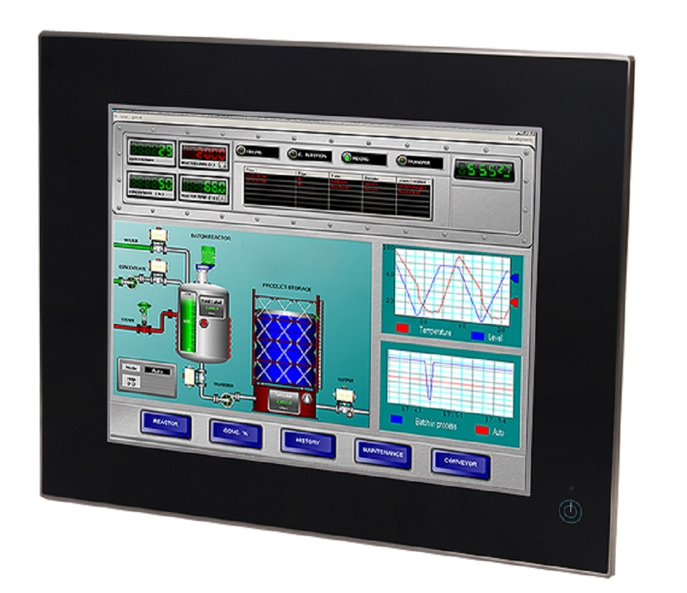 Stainless Steel HMI Panel PC, Control and Monitoring System, Stainless Panel PC