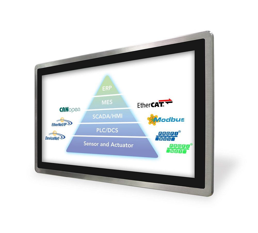 Touch Panel PC, Human Machine Interface (HMI), Industrial Ethernet (IE) and Fieldbus Technologies