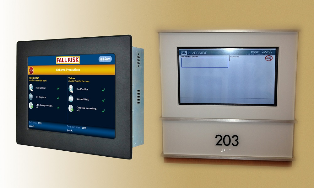 NEW Power over Ethernet (PoE) Touchscreen Panel PCs for Patient Monitor & Medical-Grade Displays