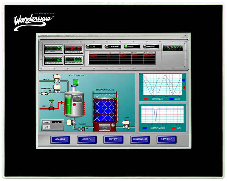 Operator Interface Computers | Wonderware InTouch HMI-AIS